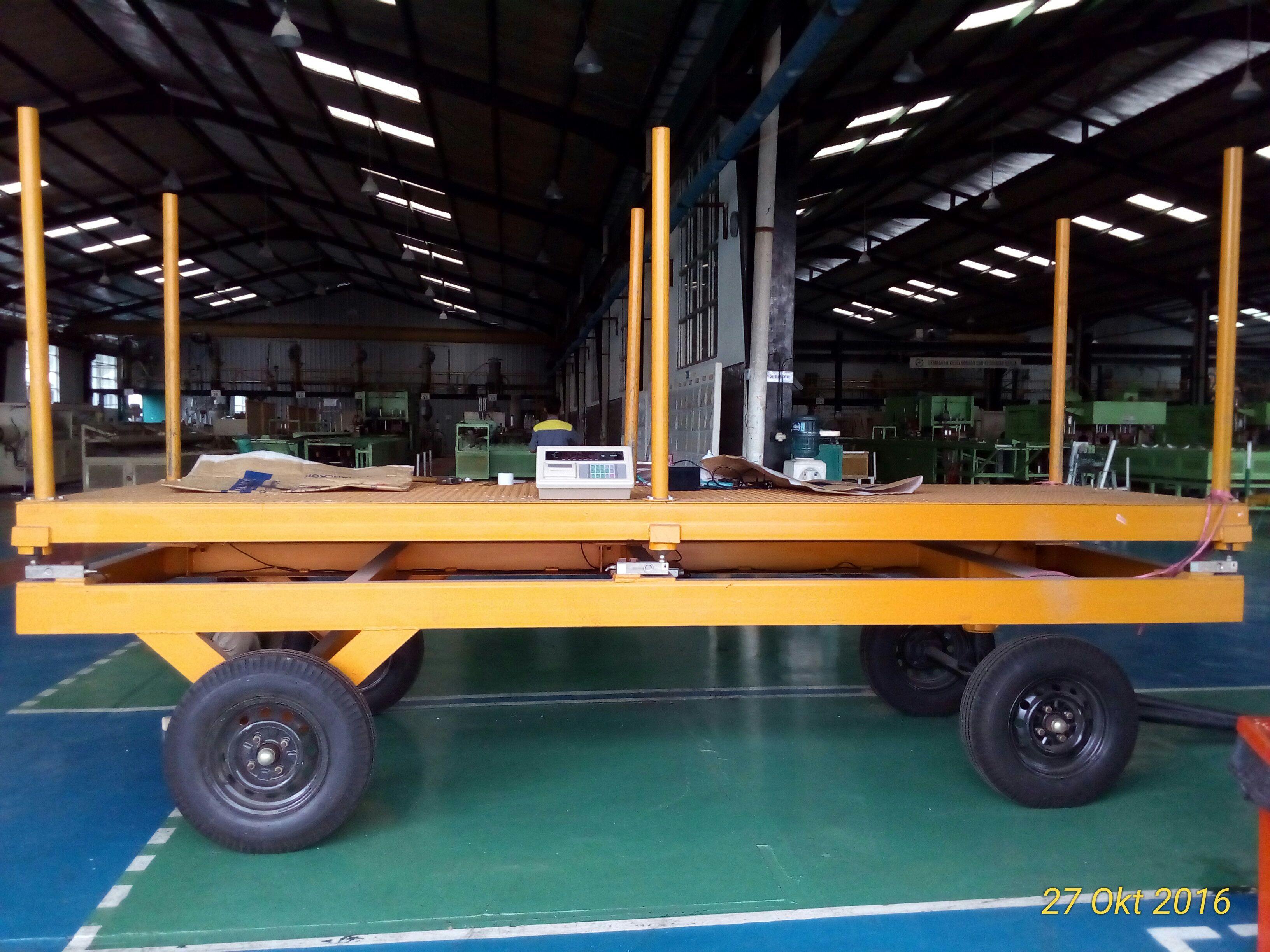 Portable trolley